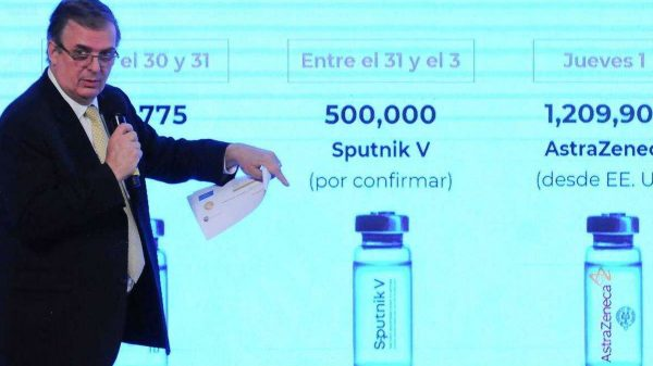 Política | Marcelo Ebrad viajará para asegurar entrega de vacunas anticovid