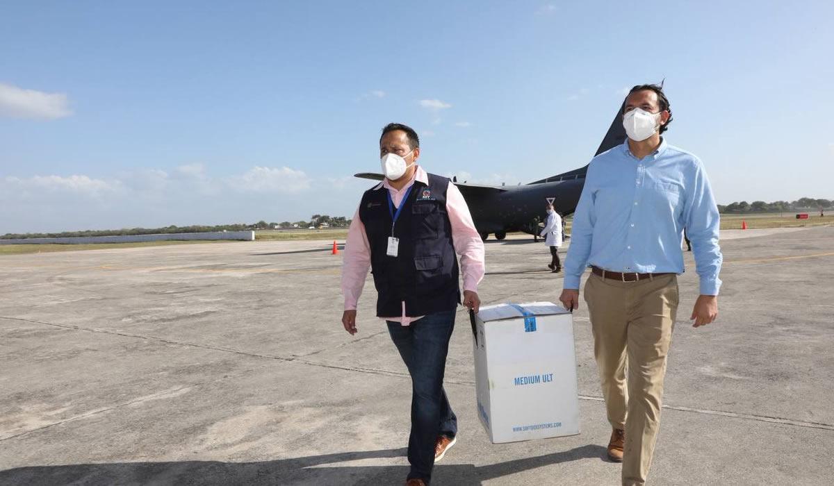 Salud | Llegaron las vacunas a Mérida