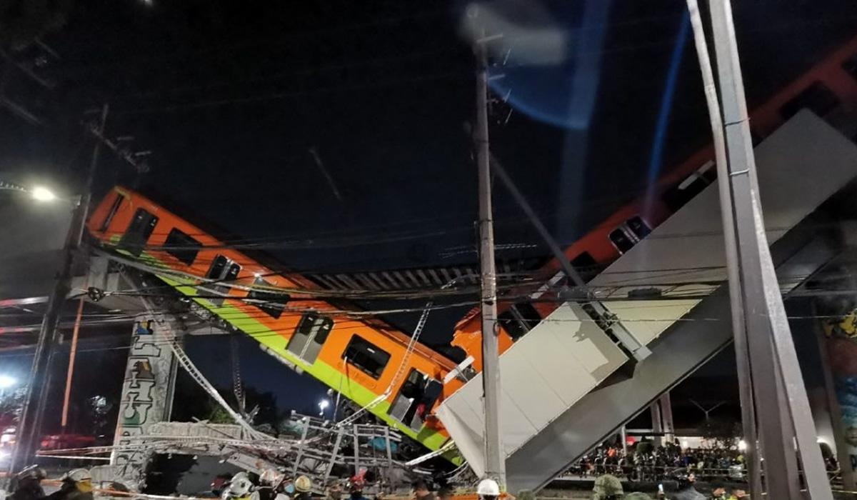 América Latina | Se desploma tren de la línea 12